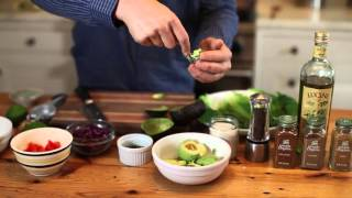 Spiced Beef Taco Wraps with Guacamole