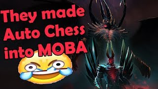 Auto Chess Pro Player Tries Out Dota 2