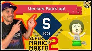 Super Mario Maker 2: Multiplayer #7: S-Rank God Gamer!