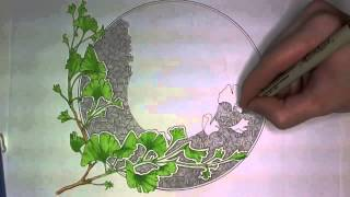 Ginkgo Leaves Drawing