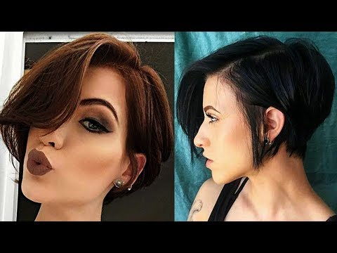 Latest Short Hairstyles for Women [New Short Haircuts for Women] ♥ SHORT Hair Women ♥