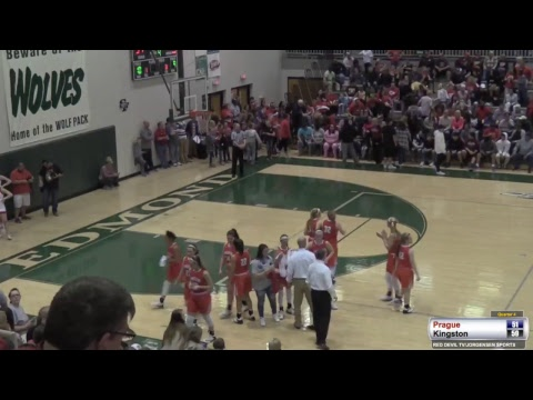 3a State Quarterfinal Prague vs Kingston 3/8/2018