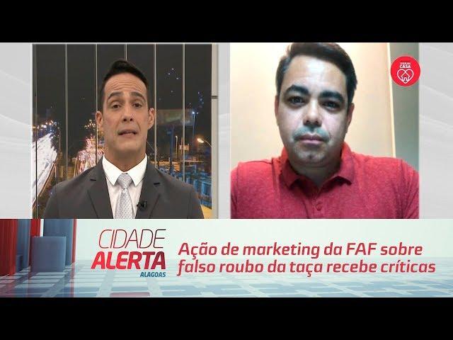 Em meio à pandemia, ação de marketing da FAF sobre falso roubo da taça recebe críticas na web
