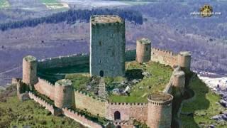 Recreación del castillo de Lara