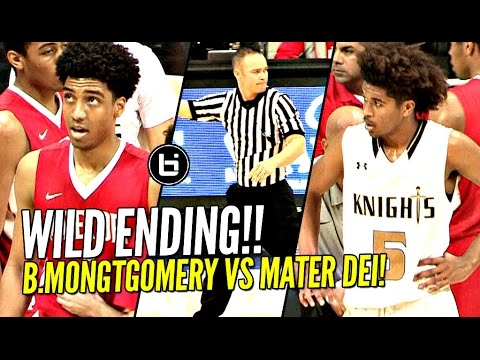 WILD ENDING! Mater Dei vs Bishop Montgomery vs The Refs In State Regional Finals!! Full Highlights!
