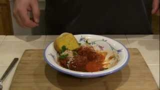 SmokingPit.com - Italian Meatballs in an authentic San Mazano Tomato Sauce - Yoder YS640