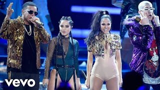 Daddy Yankee - Dura (Remix) ft. Bad Bunny, Becky G, Natti Natasha (Live at Latin Billboards)