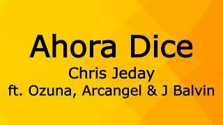 Ahora Dice Chris Jeday.mp3