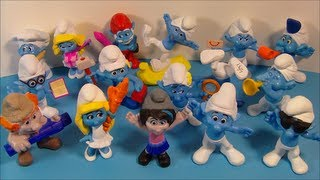 2013 SMURFS 2 SET OF 16 McDONALD