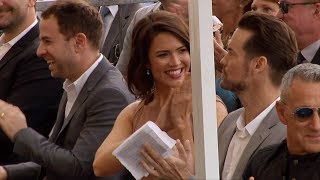 Taylor Goldsmith, Mandy Moore, Shane West Hollywood Walk of Fame Ceremony