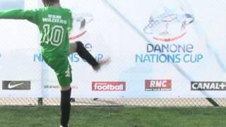 Les gestes techniques du football - Danone Nations Cup 2014