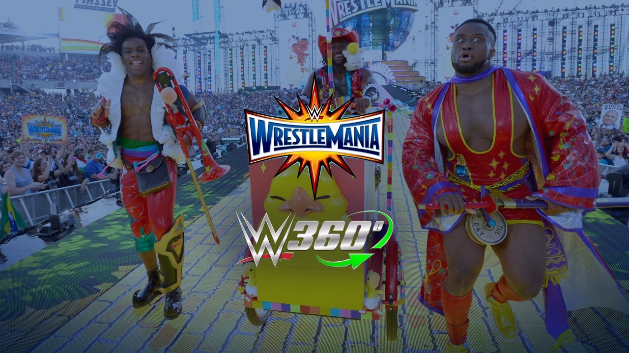Download The New Day's WrestleMania 33 entrance in 360º will give you chills!