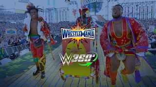 The New Day's WrestleMania 33 entrance in 360º will give you chills!