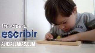 Escritura en niño de 5 años con síndrome de Down