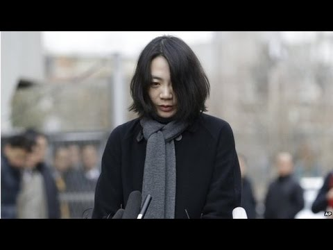 Former Korean Air executive apologises for 'nut rage'