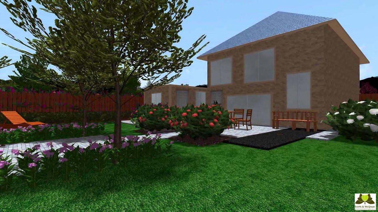 3d tuin ontwerp youtube for Ontwerp 3d