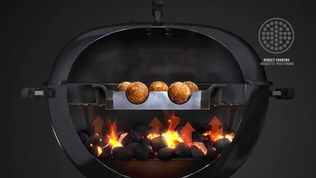 Lækker Weber Original™ Gourmet BBQ System Æbleskivepande - YouTube EX-39
