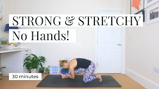 STRONG & STRETCHY | No Hands!|| KATIE SILVER