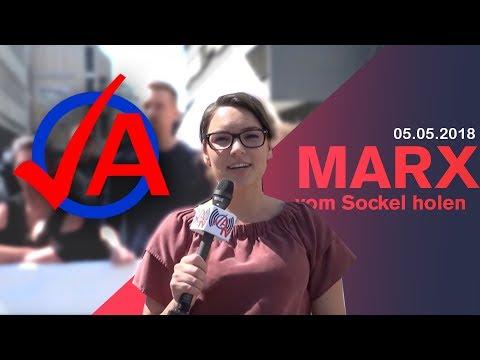 Marx vom Sockel holen - JA TV
