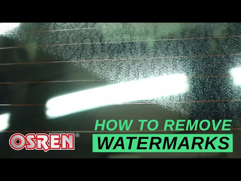 How To Remove Severe Water-Spot On Glass