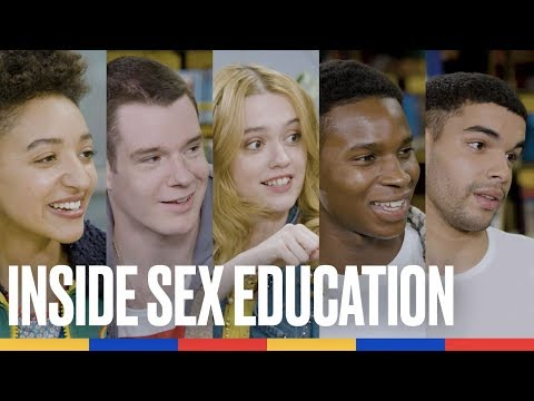 Sur le tournage de Sex Education Saison 2, avec le casting génial ! | Konbini