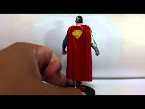 Cyborg Superman - Miniaturas DC Comics - eaglemoss