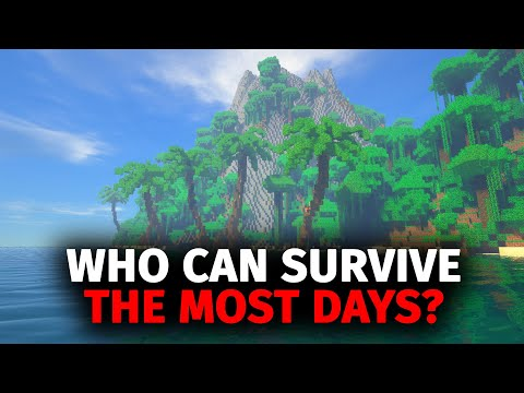 Whoever Can Survive The Most Days On A Deserted Island In Minecraft Wins - Forge Labs