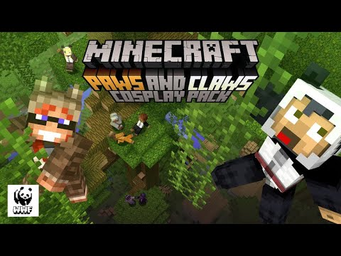 Minecraft Paws and Claws Cosplay Pack Review
