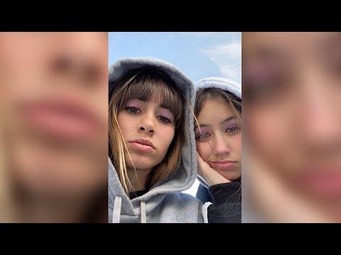 Aitana comparte dos fotos con la hermana de Miguel Bernardeau