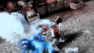 Fable 3: Extreme morph + Wicked finishing move