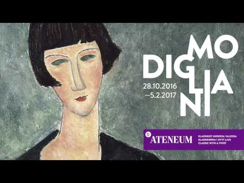 Amedeo Modigliani at the Ateneum Art Museum in Helsinki