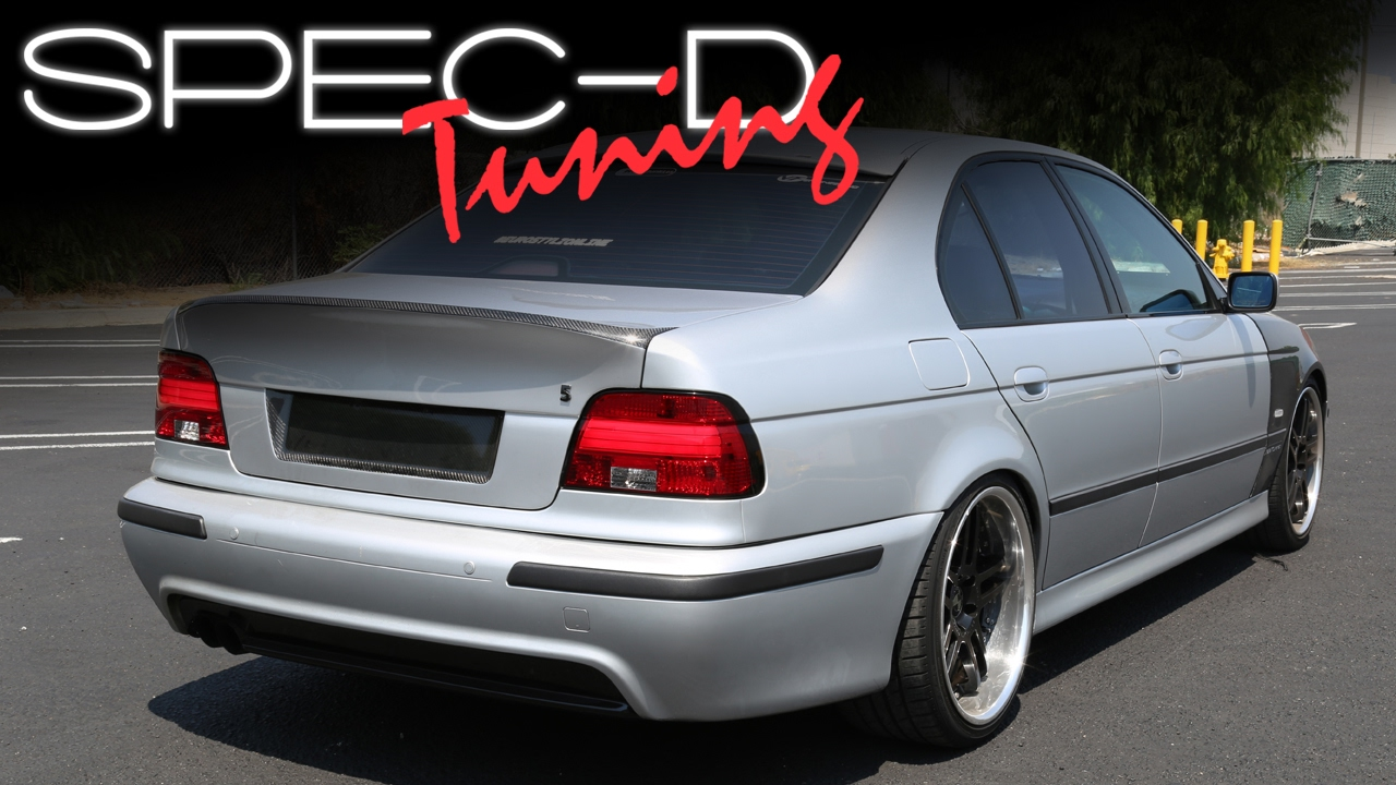 specdtuning installation video 2001 2003 bmw 5 series e39 led tail lights [ 1280 x 720 Pixel ]