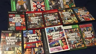 Grand Theft Auto Series - Box & Disc Art