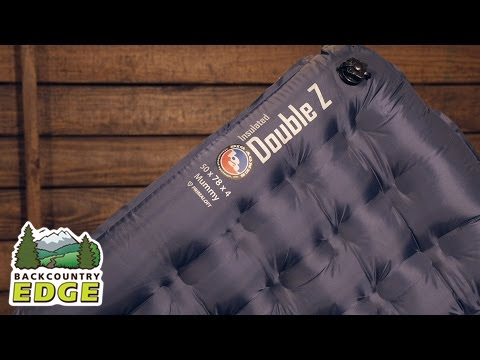 dff35f8f335 Big Agnes Insulated Double Z Double-Wide Sleeping Pad - YouTube