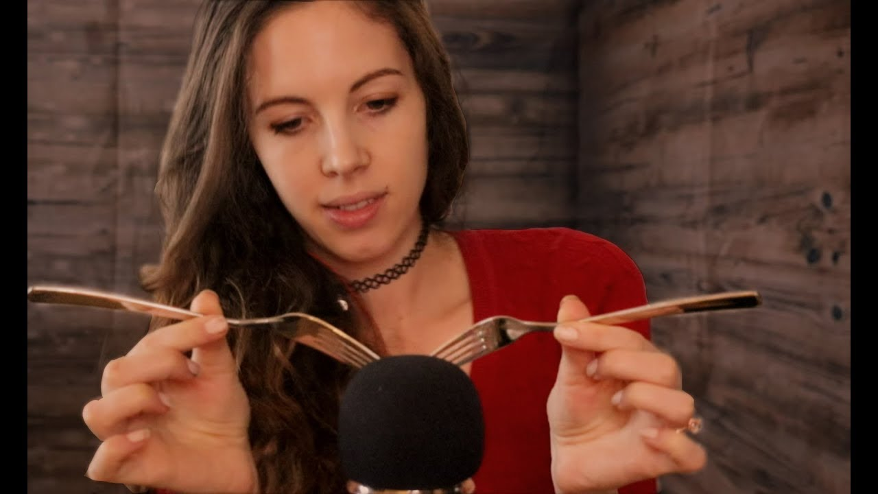 ASMR MIC SCRATCHING With SHARP Objects