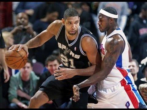 2005 NBA Finals Game 3. Detroit Pistons vs San Antonio Spurs