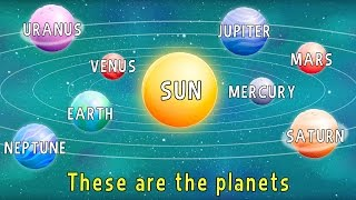 The Planets: The Song  -  English Educational Videos | Little Smart Planet