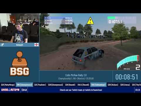 Colin McRae Rally 2.0 (Championship% NG+ (Novice)) #UKSGAutumn19