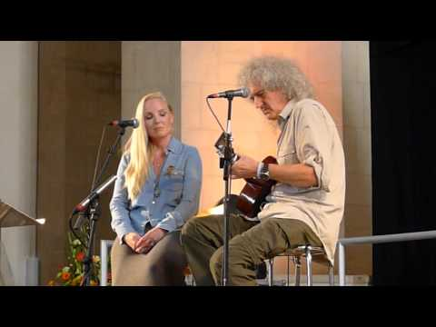 Brian May and Kerry Ellis - Life Is Real - Wildlife Rocks - Guildford - 010912