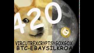 DOGECOIN TRIPPIN TO THA MOON #wow #420