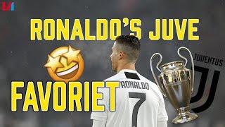 CL-TALK: Juve topfavoriet vanwege collectief en goals Ronaldo