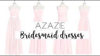 AZAZIE REVIEW AND UNBOXING | BRIDESMAID DRESSES | ALYSSA DAW