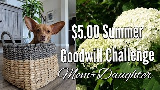 """$5.00 Goodwill Home Decor Challenge-Summer 2018-Hosted By """"Old World Home"""""""