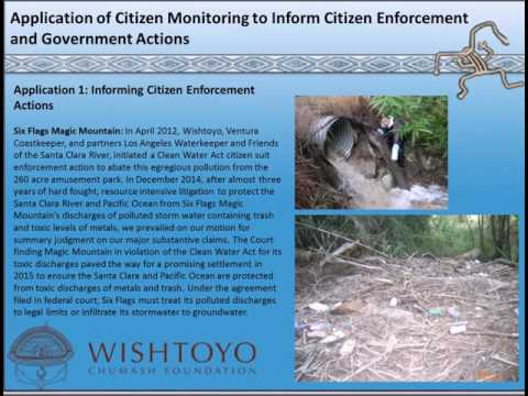The Application of Citizen Monitoring to Inform Citizen and Government Enforcement Actions