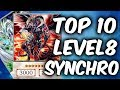 TOP 10 LEVEL 8 SYNCHRO Cards of Yugioh TCG (Yu-Gi-Oh Top 10 List)