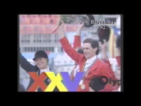 1992 Olympics Barcelona Equestrian Gold _ Matt Ryan_ Australia
