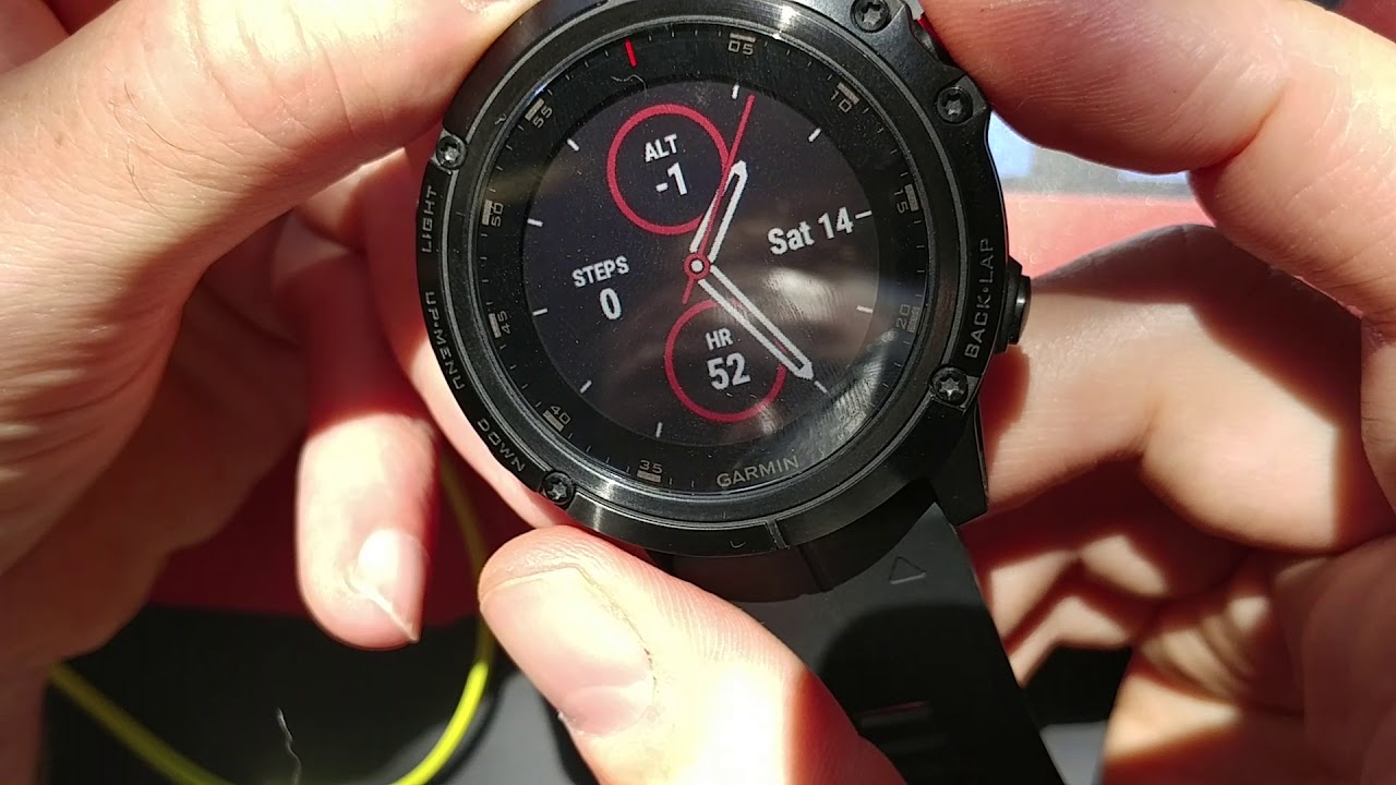Garmin Fenix 5x Plus Sapphire Unbox And Settings Test Review Youtube