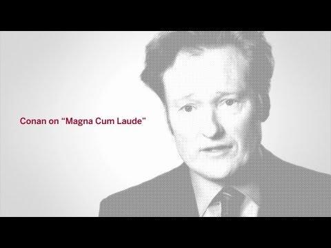 Conan O'Brien '85: Magna Cum Laude