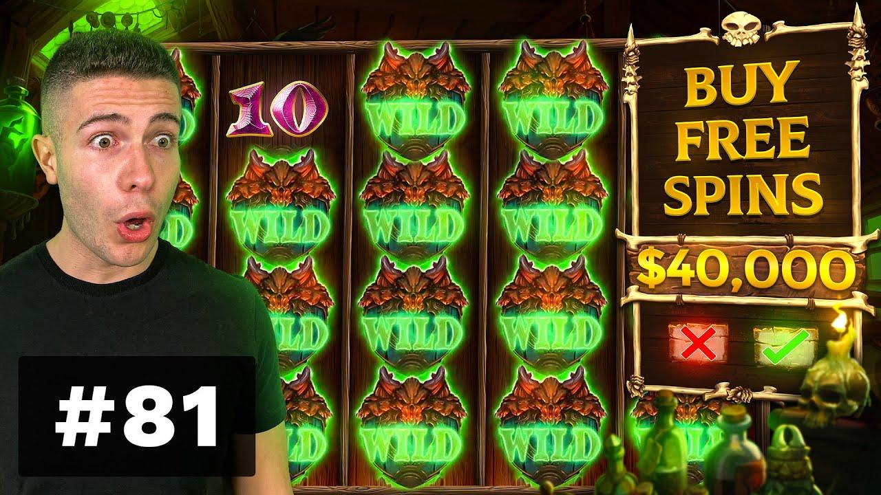 $40000 BONUS BUYS on Voodoo Magic, BIG WIN on Sword and the Grail - AyeZee Stream Highlights #81