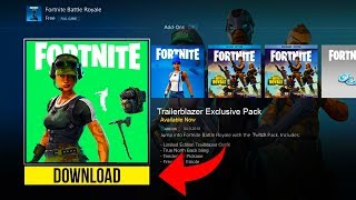 How To Get Free Skins In Fortnite!   Fortnite Exclusive Twitch Prime Pack #2 (free Trailblazer Skin)